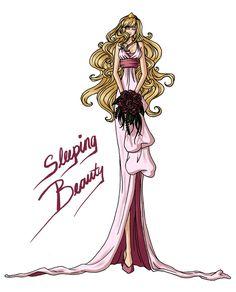 FAIRY TALE GIRLS PROJECT: Sleeping Beauty by WeleScarlett.deviantart.com on @deviantART