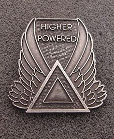 Alcoholics Anonymous Higher Powered Lapel Hat Vest Pin Recovery | eBay