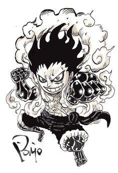Kaido One Piece, One Piece Gif, One Piece Tattoos, Manga Anime One Piece, Anime Tattoos, Monkey D Luffy, One Piece Luffy, Anime Life, Cool Artwork