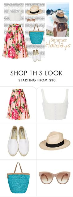 """""""Summer 09/07"""" by dorey on Polyvore featuring Dolce&Gabbana, Manebí and Roxy"""