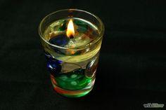 Cómo hacer velas de agua
