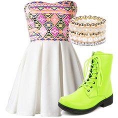 A fashion look from September 2014 featuring tribal print dress, qupid boots and stretch jewelry. Browse and shop related looks. Dreams, Shoe Bag, Sneakers, Casual, Stuff To Buy, Accessories, Shopping, Shoes, Collection