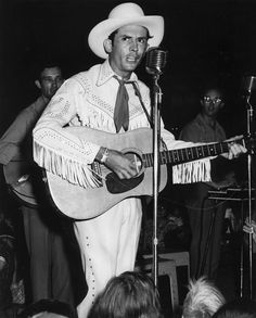 Country music legend Hank Williams died in 1953 at the age of 29.