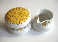 Thomas Germany KIRUNA sugar bowl and creamer set by regarding