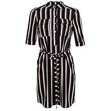 Buy Miss Selfridge Stripe Shirt Dress, Multi Online at johnlewis.com