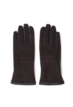 Plaid Faux Leather Gloves | FOREVER21 - 2000080903