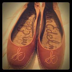 Selling this Orange Jessa sam edelman ballet flat for sale. in my Poshmark closet! My username is: forgetmeknaught. #shopmycloset #poshmark #fashion #shopping #style #forsale #Sam Edelman #Shoes
