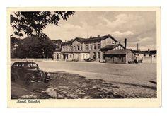 Ostpreussen Memel Klaipėda Bahnhof. 1943