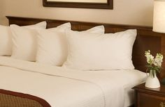 Our Comfort Collection bedding. Madison, Wisconsin Hotel.