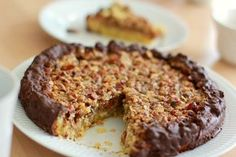 Nøddekage a la Nøddetærte | Ellevild Madblog