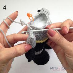 Batman Amigurumi – Minasscraft Patrones Amigurumis Crochet Baby Toys, Crochet Art, Free Crochet, Half Double Crochet, Single Crochet, Batman Amigurumi, Batman Free, Crochet Batman, Crochet Dolls Free Patterns