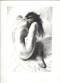 ''Silk'' graphite drawing