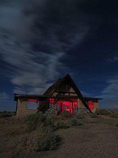 Mojave Desert, north of Barstow, California