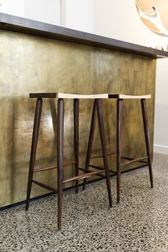 Hardwood Barstool By #Oly San Franscisco #stools #design #style