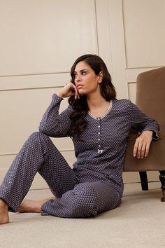 Pijama mujer invierno Egatex modelo Cuore