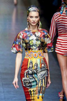 Cool Chic Style Fashion: Dolce and Gabbana SS 2013