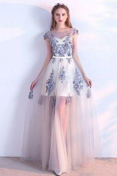 Custom Made Nice Lace Prom Dresses, Long Prom Dresses Cute Prom Dresses, Grad Dresses, Ball Dresses, Elegant Dresses, Pretty Dresses, Homecoming Dresses, Beautiful Dresses, Dress Outfits, Evening Dresses