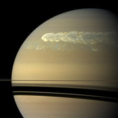"Massive storm churned up water from Saturn's depths, event captured by Nasa's ""Cassini"""