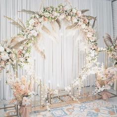 This wedding backdrop is so angelic! The soft light and romantic florals are absolutely heavenly 😍 Via wedding stage Wedding Backdrop Design, Wedding Stage Design, Wedding Reception Backdrop, Wedding Stage Decorations, Engagement Decorations, Backdrop Decorations, Backdrops, Backdrop Lights, Wedding Mandap