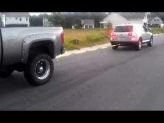 Chevy Duramax vs VW Touareg Diesel Bumper Tow