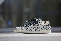 Adidas Stan Smith White Leopard Print - S75117