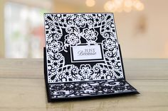The Paisley Parade Collection features brand new shaped interlocking dies that offer more multi-use and more intricate detailing to create an extremely versatile die Tattered Lace Cards, Frantic Stamper, Shaped Cards, Easel Cards, Flourish, Tatting, Embellishments, Paisley, Birthdays