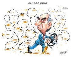 Acabará por ser obrigado a sair da política, para repeitar o Brasil... e muitos outros também.!...