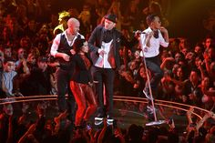 Justin Timberlake performing at the Video Music Awards 2013