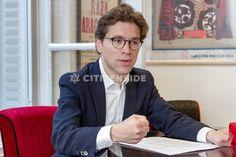 Paris : Geoffroy Didier présente son programme économique pour la primaire de la droite - A la une - via Citizenside France. Copyright : Christophe BONNET - Agence73Bis