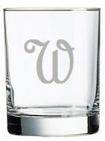 Set of Six Personalized Old Fashion Glasses from www.wellappointedhouse.com #homedecore #decorate #redecorate #dinnerware #glassware