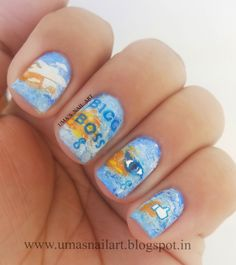 Uma's Nail Art: BIGG BOSS SEASON 8 NAILS