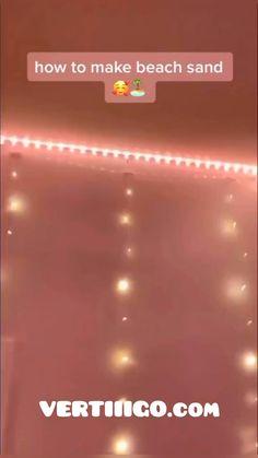 Led Room Lighting, Room Lights, Strip Lighting, Led Light Strips, Led Strip, Neon Room, Led Diy, Cute Room Decor, Room Ideas Bedroom