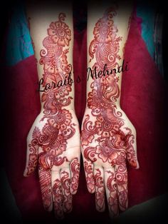 Best 12 Laraib's mehndi design