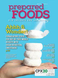 PreparedFoods%20%20May 2020 New Fruit, Mini Donuts, Organic Sugar, A Star Is Born, Food Industry, New Recipes, Magazines, Bakery, Mini Doughnuts