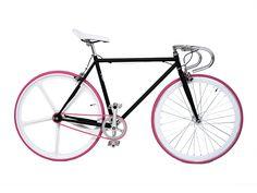 vélo_urbain_fixie_noir_rose_pas cher sur fixiedesign.com
