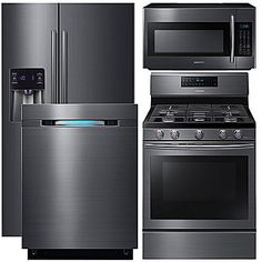 Buy Samsung 4-pc. Gas Kitchen Package- Black Stainless Steel NX58H5600SS/AA at JCPenney.com today and enjoy great savings.