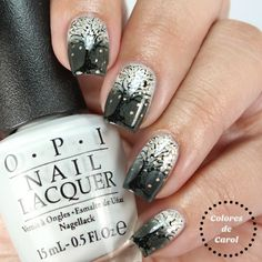 Colores de Carol: Lovely Leaves - ÜberChic Beauty Stamping Plate