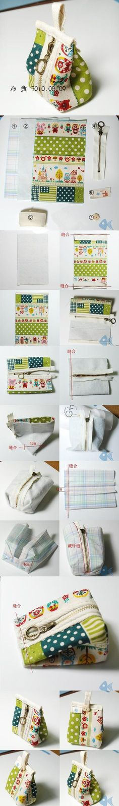 DIY Small Handbag DIY Projects | UsefulDIY.com Follow us on Facebook ==> https://www.facebook.com/UsefulDiy