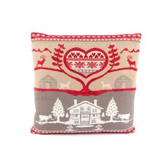 Heart of the mountains cushion