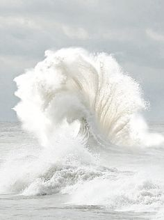 Beautiful wave - as long as it isn't coming right at you!