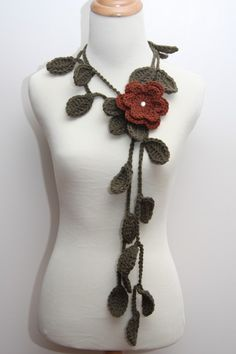 awesome scarf/necklace