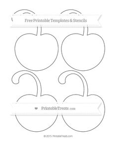 Free Monster Template  Medium  Shapes And Templates Printables
