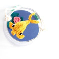 Un poisson au bout de mon crochet • Amigurumi poisson / Fish Amigurumi • Crochet fish