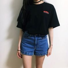 Korean Daily Fashion- Popular T-shirts for this summer 2016 #PopularFashionTrends