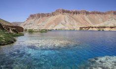 砂漠の真珠と例えられるアフガニスタンの『バンデ・アミール』 Blue Hole, Beautiful Waterfalls, Hot Springs, Pond, Beautiful Places, Scenery, River, Fantasy, Beach