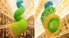 A Sculpture Made of 10,000 Balloons Redefines Balloon Art (links to story about artist Jason Hackensworth)