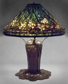 Daffodil Shade on Pond Lily Base by Century Studios
