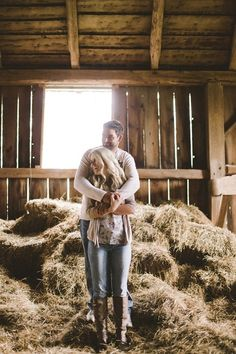 Country Engagement Photos - Ottawa Barn Engagement Session by Rowell Photography Country Engagement Pictures, Engagement Couple, Engagement Shoots, Fall Engagement, Engagement Ideas, The Animals, Couple Photography, Engagement Photography, Wedding Photography