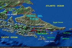 Tierra Del Fuego!  Yes, obscure.  But, fascinating!