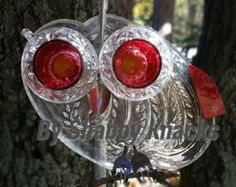 Whimsical Repurposed Owl